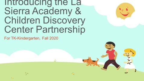 Thumbnail for entry LSA CDC Partnership