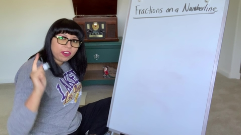 Thumbnail for entry Fractions Number Line 1