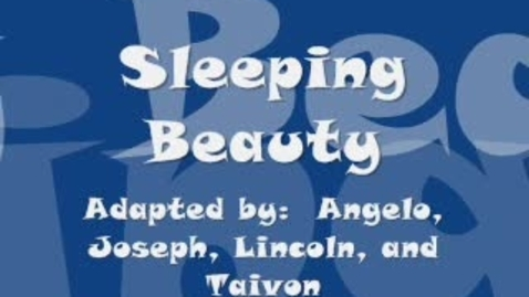 Thumbnail for entry Sleeping Beauty
