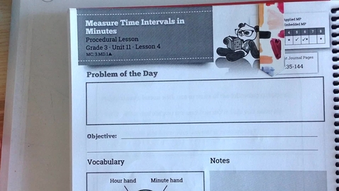 Thumbnail for entry SWUN Grade 3  Unit 11 Lesson 4
