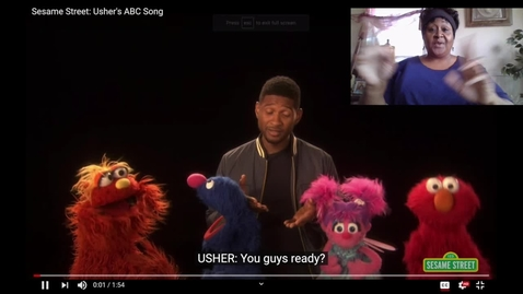 Thumbnail for entry Usher ABC's w:Sign Language Interpretation