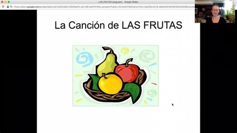 Thumbnail for entry frutas sing along.mp4