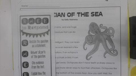 Thumbnail for entry Reading - Tuesday September 1 - 5th Grade
