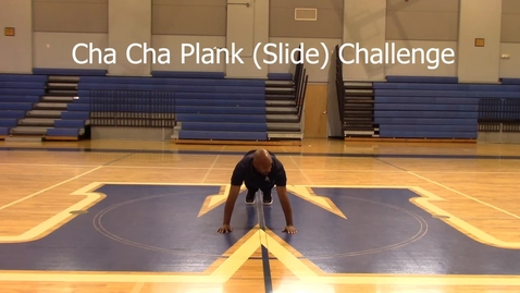 Thumbnail for entry Cha Cha Plank Challenge - Coach Harris 1st Attempt
