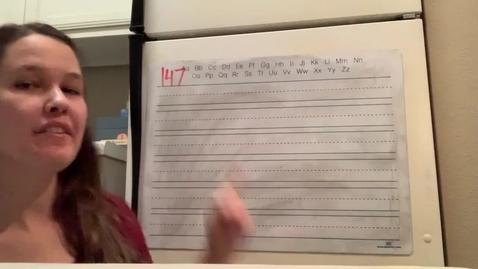 Thumbnail for entry Spelling Lesson 147