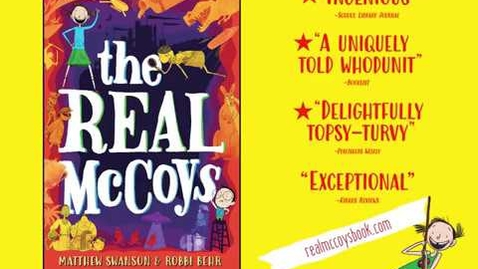Thumbnail for entry The Real McCoys Book Trailer