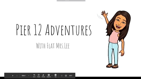 Thumbnail for entry Adventures with Flat Mrs. Lee.mov