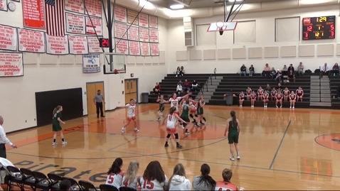 Thumbnail for entry OHS V-Girls v Bartlett Basketball