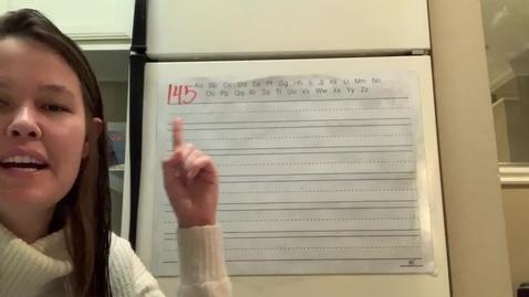 Thumbnail for entry Spelling Lesson 145