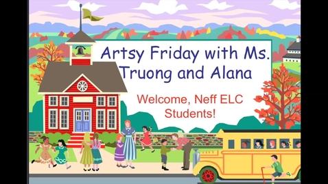 Thumbnail for entry Artsy Friday Week 1: Diy Watercolor Paint