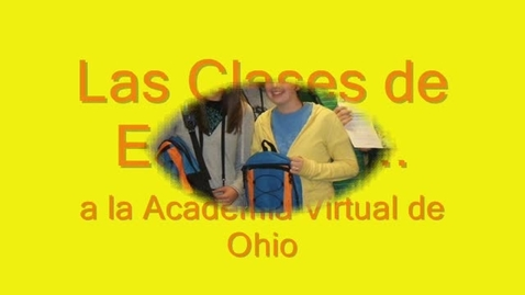 Thumbnail for entry Spanish Orientation Video