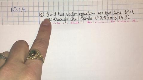 Thumbnail for entry HIM3 10.1.4 part7 Angle between Vectors