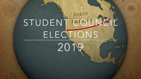 Thumbnail for entry Student Council Elections 2019