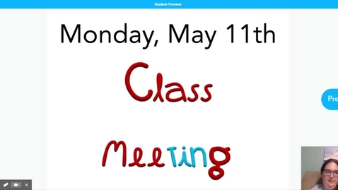 Thumbnail for entry Morning Meeting 5.11