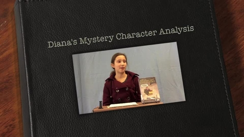 Thumbnail for entry Diana's Mystery Character Analysis