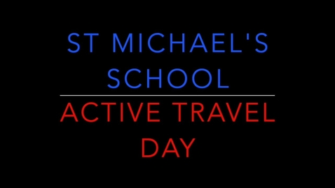 Thumbnail for entry Active Travel Day - HD 720p