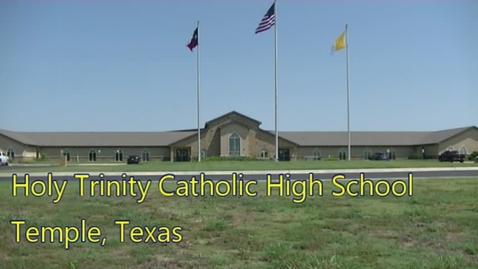 Thumbnail for entry H3News--May 8, 2020  Holy Trinity Catholic High School