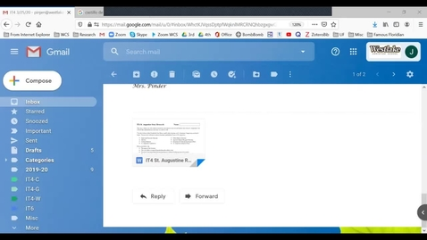 Thumbnail for entry IT4 - How to Save and Edit your St Augustine Research Log
