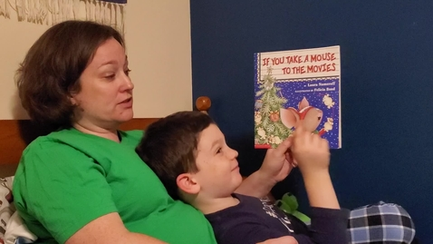 """Thumbnail for entry Mrs.Pilarski Reads """"If You Take a Mouse to the Movies"""""""