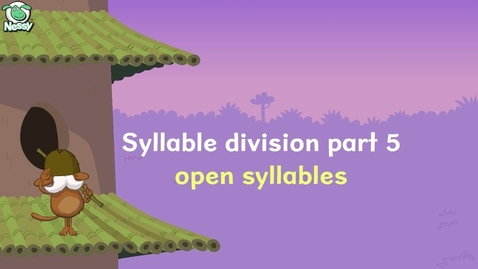 Thumbnail for entry Open Syllables