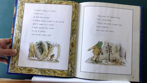 Thumbnail for entry Frog and Toad All Year - Weekly Reading