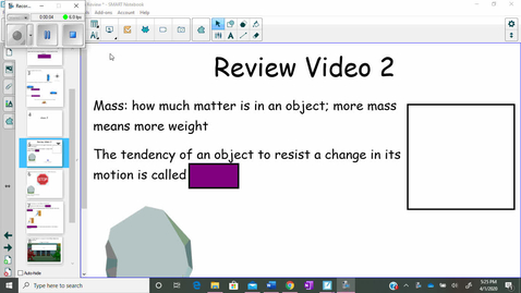 Thumbnail for entry Force and Newton's Laws of Motion Review Video 2