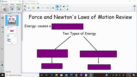 Thumbnail for entry Force and Newton's Laws of Motion Review Video 1