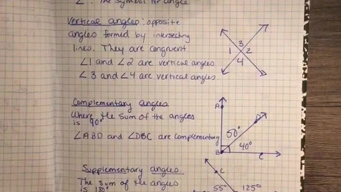 Thumbnail for entry 6-1 lines and angles
