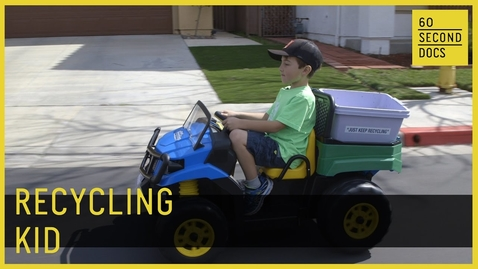 Thumbnail for entry Ryan's Recycling | Kid Entrepreneur // 60 Second Docs