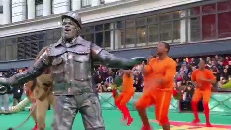 "Thumbnail for entry THE WIZ: LIVE! - ""A Brand New Day"" [LIVE @ Macy's Thanksgiving Day Parade]"