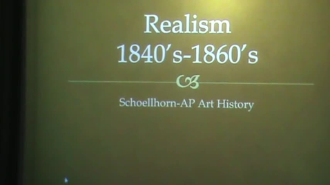 Thumbnail for entry Realism Introduction