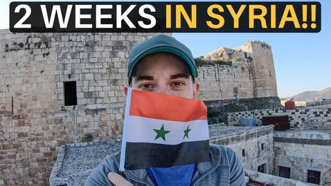 Thumbnail for entry 2 WEEKS IN SYRIA 🇸🇾(not what you'd expect!)