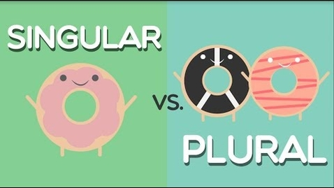 Thumbnail for entry K12 Grade 1 - English: Plural and Singular