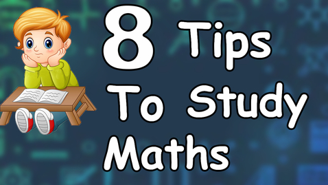 Thumbnail for entry How to study math? | 8 tips to score good marks in Math | Exam Tips for Math | Letstute