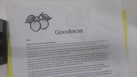 Thumbnail for entry 6th Grade Bible - Fruits of the Spirit - Tuesday May 12
