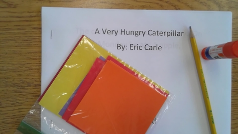 Thumbnail for entry Monday Hungry Caterpillar Book