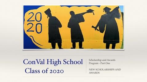 Thumbnail for entry Senior Awards & Scholarship Night - PART ONE