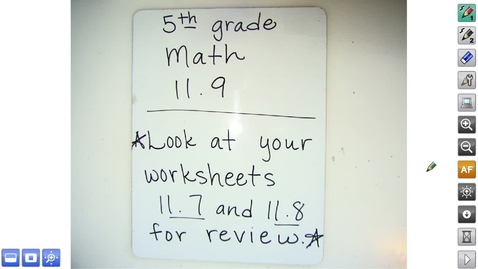 Thumbnail for entry Math 5.11.9