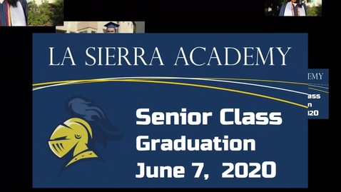 Thumbnail for entry Senior Class of 2020 Graduation