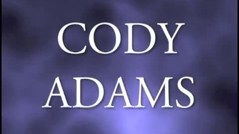 Thumbnail for entry Detective Cody Adams - Episode 1: The Serial Speller