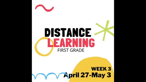 Thumbnail for entry Distance Learning W3