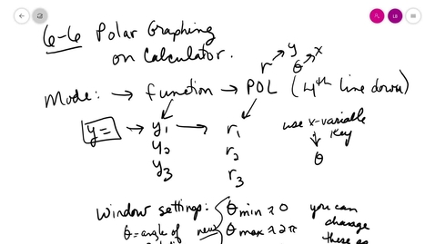 Thumbnail for entry trig 6-6 C Graphing on calc