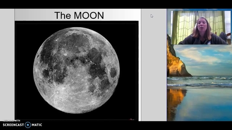 Thumbnail for entry The Moon - Mrs. Mikles teaches 1st Grade