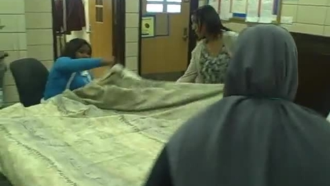 Thumbnail for entry Sewing Sleeping Bags for the Homeless