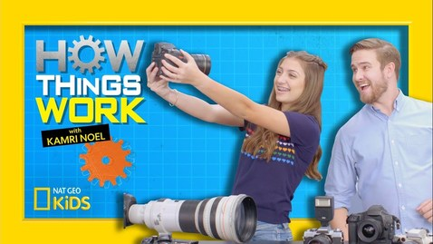 Thumbnail for entry How Digital Cameras Work | How Things Work with Kamri Noel