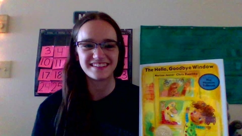 Thumbnail for entry The Hello, Goodbye Window by Norton Juster