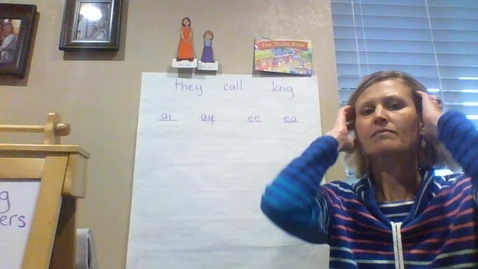 Thumbnail for entry Monday 3/30 Reading/ phonics lesson: Miss Long and Miss Silent