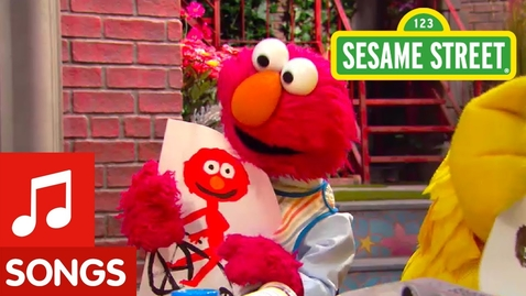Thumbnail for entry Sesame Street: Not Just One Way to Make Art