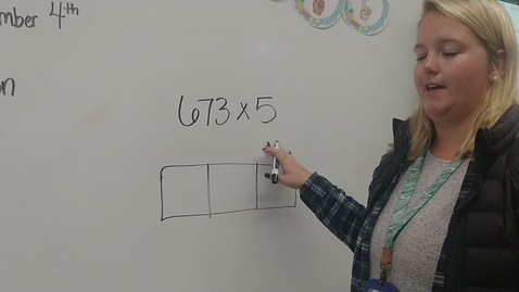 Thumbnail for entry 4th grade multiplication with area model