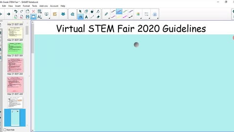 Thumbnail for entry Virtual STEM Fair 2020 Guidelines
